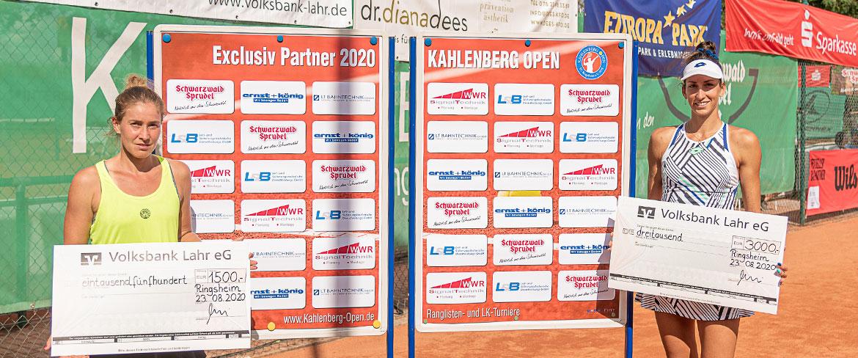 Georgina Garcia-Perez siegt beim deutschen Tennis-Ranglistenturnier Kahlenberg Open 2021