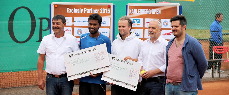 Die Sieger des Ranglistenturniers Kahlenberg Open 2015
